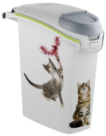 Akcesoria do karmienia - Curver Pet Life Pojemnik na karmę lub żwirek 10kg