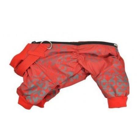 Ubranka dla psa - Chaba Kombinezon ocieplany rozm. 5/32cm czerwone