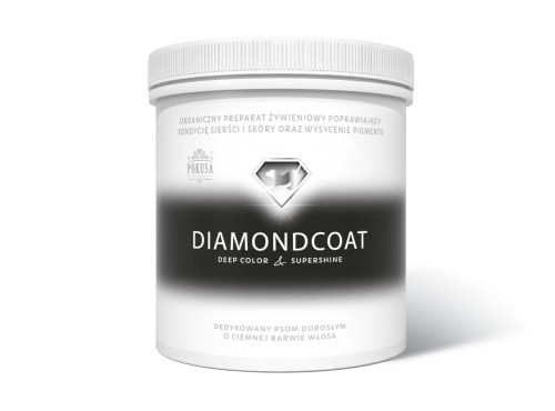 Suplementy - Pokusa DiamondCoat DeepColor & SuperShine słoik 1000g