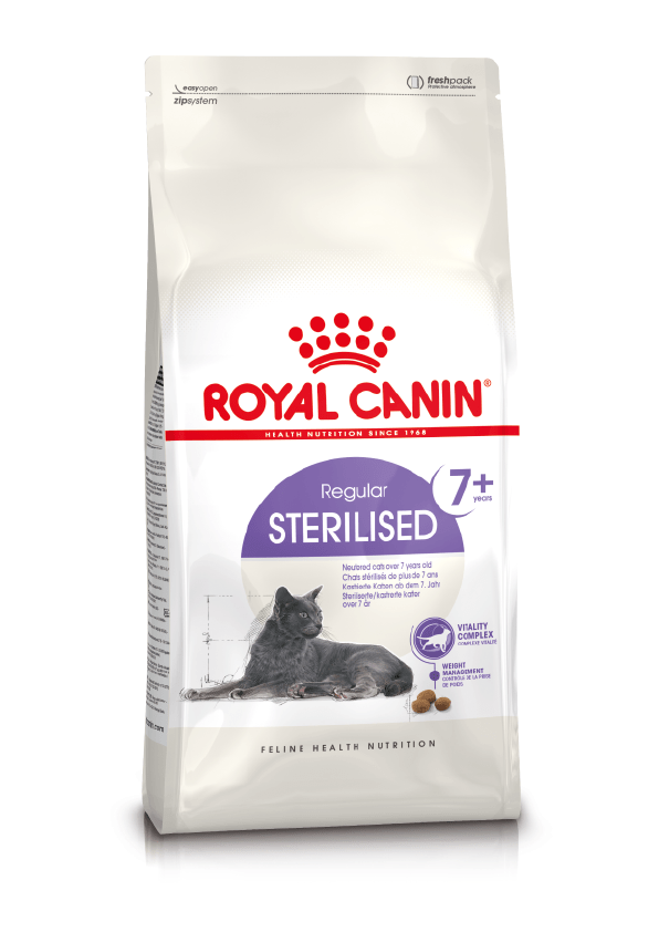 Karmy suche dla kota - Royal Canin Sterilised 7+