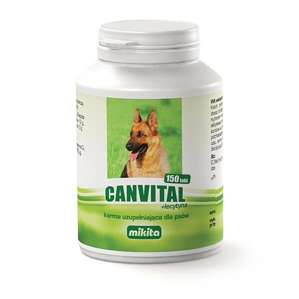Suplementy - Mikita Canvital plus lecytyna 150 tabl.