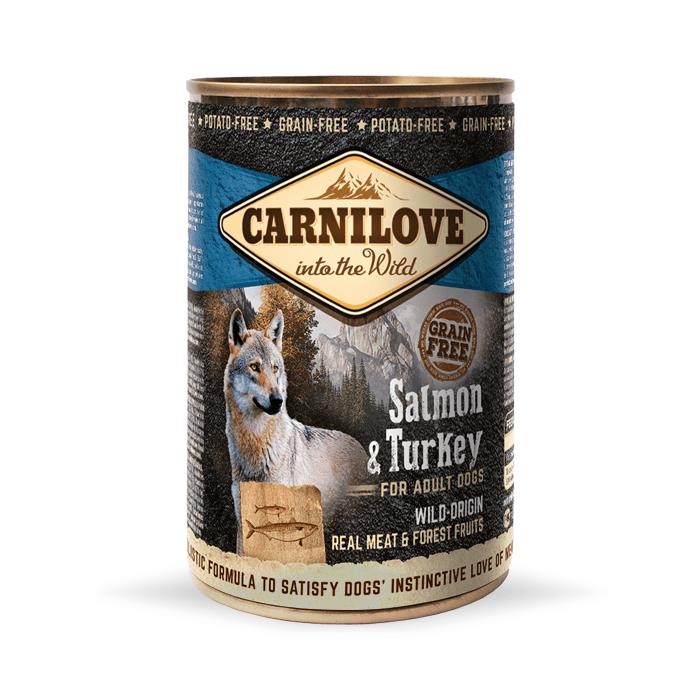 Karmy mokre dla psa - Carnilove Wild Meat Adult 400g x 4
