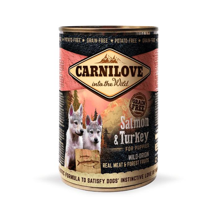 Karmy mokre dla psa - Carnilove Wild Meat Puppy 400g x 4