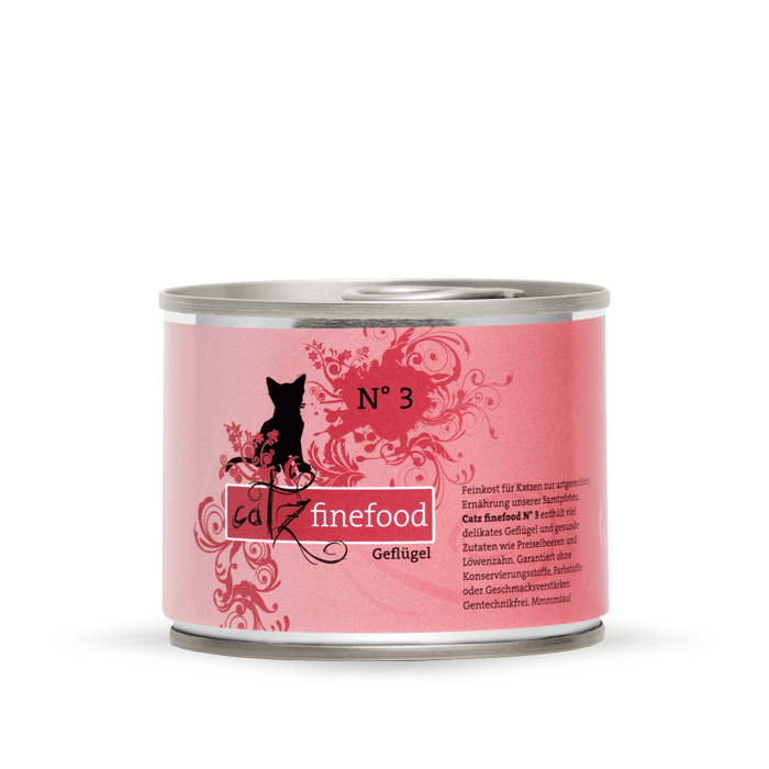 Karmy mokre dla kota - Catz Finefood puszka 200g x 4