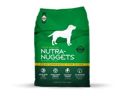 Karmy suche dla psa - Nutra Nuggets Adult Performance