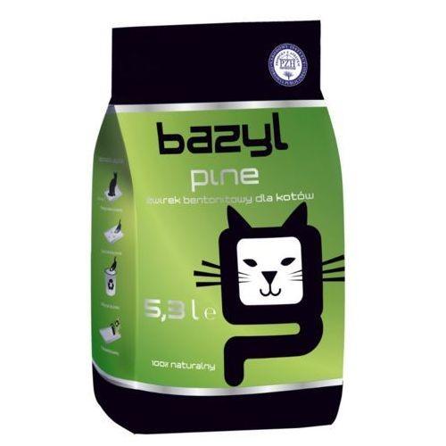 żwirek dla kota - Żwirek Bazyl Pine 5,3l