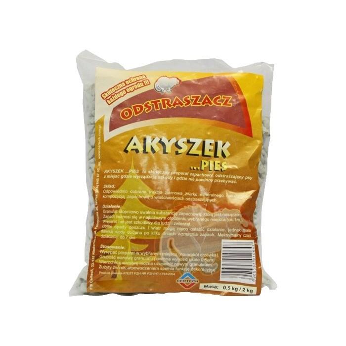 Produkty higieniczne - Certech Akyszek Odstraszacz psów, granulki 0,5kg