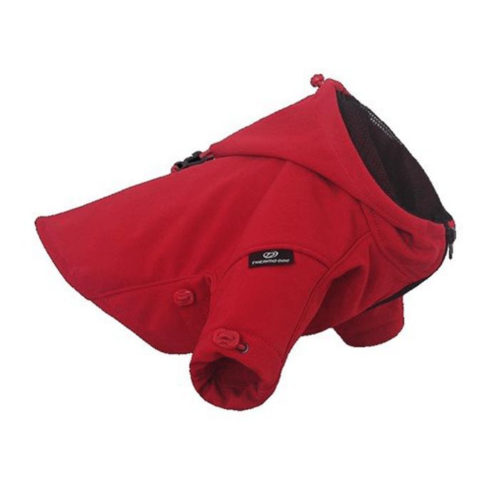 Ubranka dla psa - Chaba Kurtka Thermo Dog czerwona