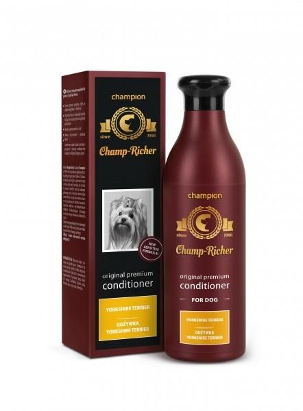 Higiena, pielęgnacja sierści - Champ-Richer Odżywka dla rasy york 250ml