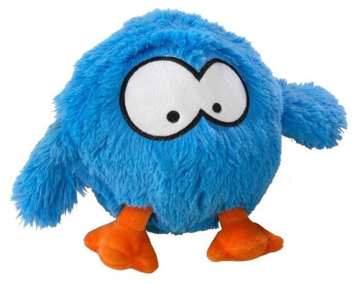 Zabawki - Coockoo Bouncy interaktywna pluszowa zabawka niebieska 28 x 19cm
