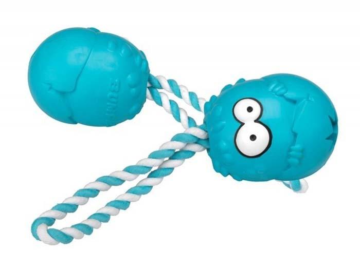 Zabawki - Coockoo Bumpies gryzak na przysmaki zapachowy z liną mięta