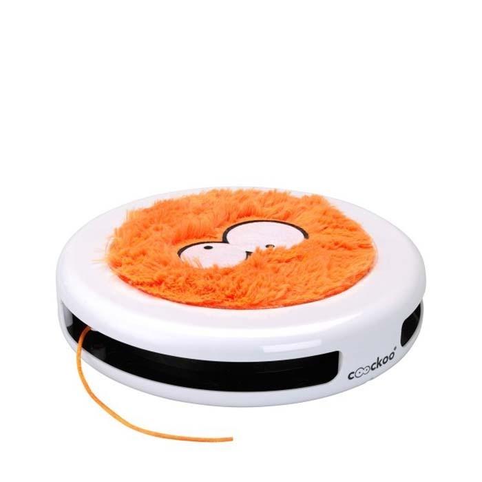 Zabawki - Coockoo Sling 360 interaktywna zabawka pomarańczowa 24 x 24 x 5,5cm