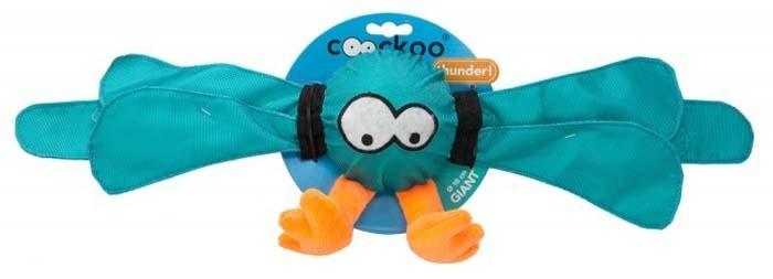 Zabawki - Coockoo Thunder piszcząca piłka turkusowa