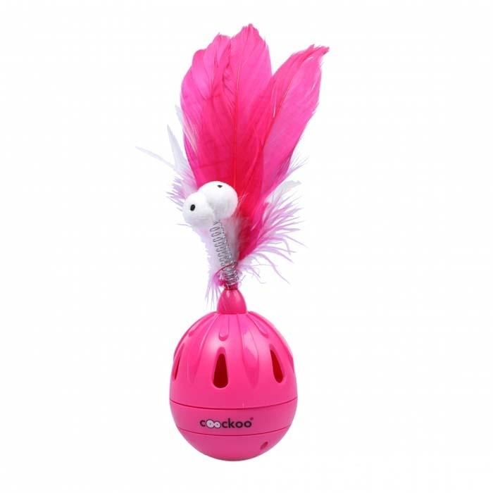 Zabawki - Coockoo Tumbler interaktywna zabawka różowa 19,5 x 7cm