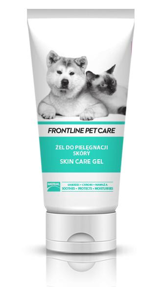 Higiena, pielęgnacja sierści - Frontline Pet Care Skin care gel 200ml