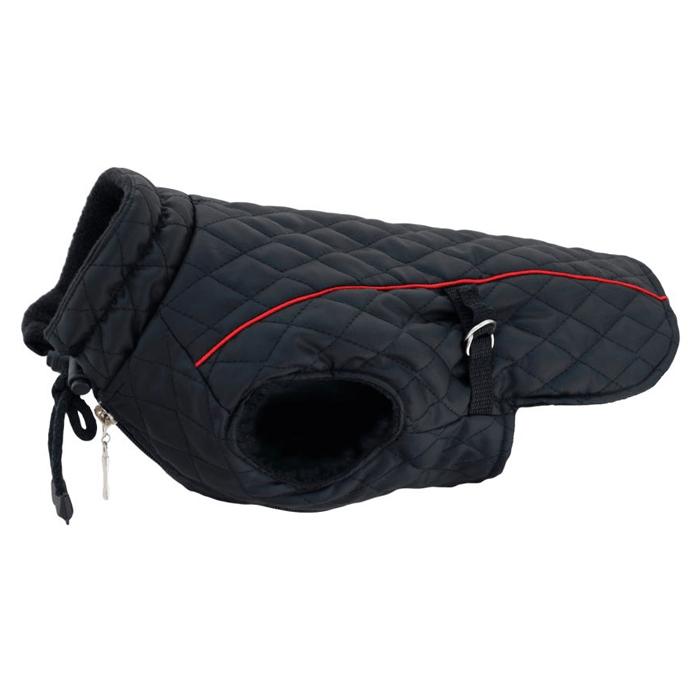 Ubranka dla psa - Grande Finale Kurtka pikowana czarna [rozmiar 0]