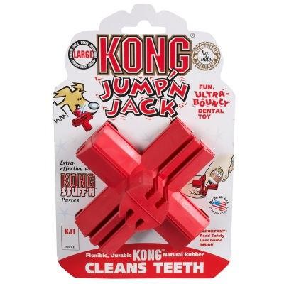 Zabawki - Kong Dental Jack Medium 15cm