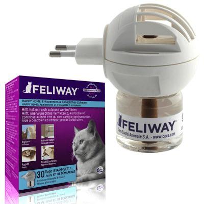 Suplementy - Feliway - kocie feromony dyfuzor + wkład 48ml
