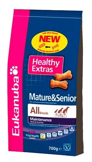 Przysmaki dla psa - Eukanuba Healthy Extras Mature 700g