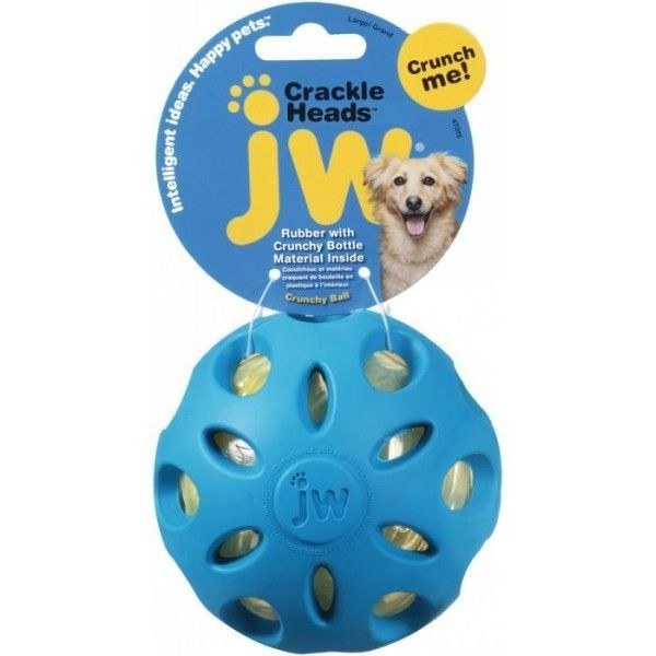 Zabawki - JW Pet Crackle Ball Medium