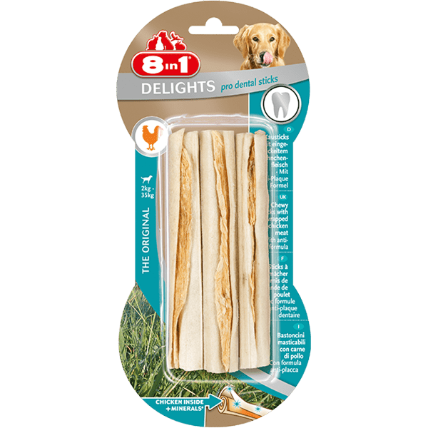Przysmaki dla psa - 8in1 Dental Delights Sticks 3szt.