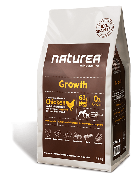 Karmy suche dla psa - Naturea Grain Free Growth Puppy