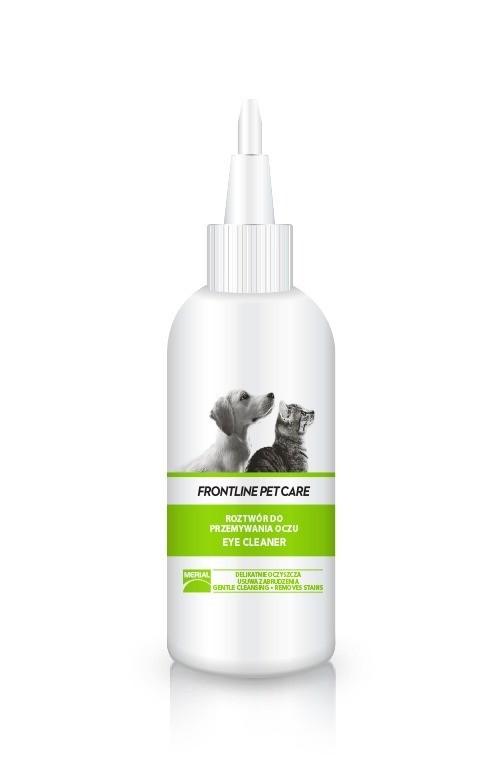 Higiena, pielęgnacja oczu, uszu, zębów - Frontline Pet Care Eye Cleaner 125ml