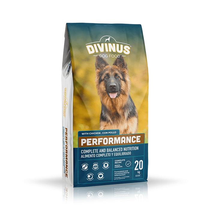 Karmy suche dla psa - Divinus Performance 20kg