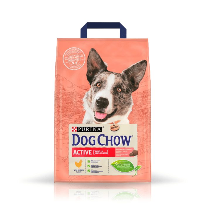 Karmy suche dla psa - Dog Chow Adult Active Chicken