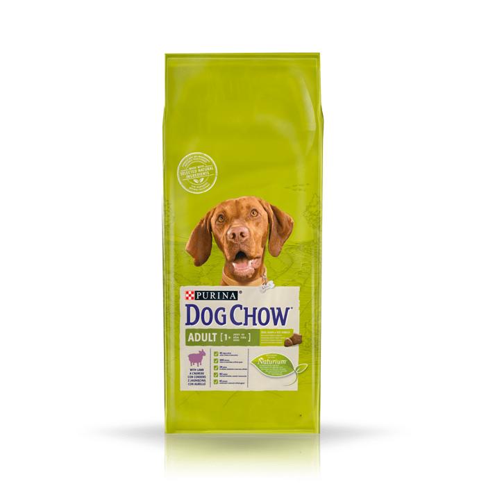 Karmy suche dla psa - Dog Chow Adult Lamb 14kg