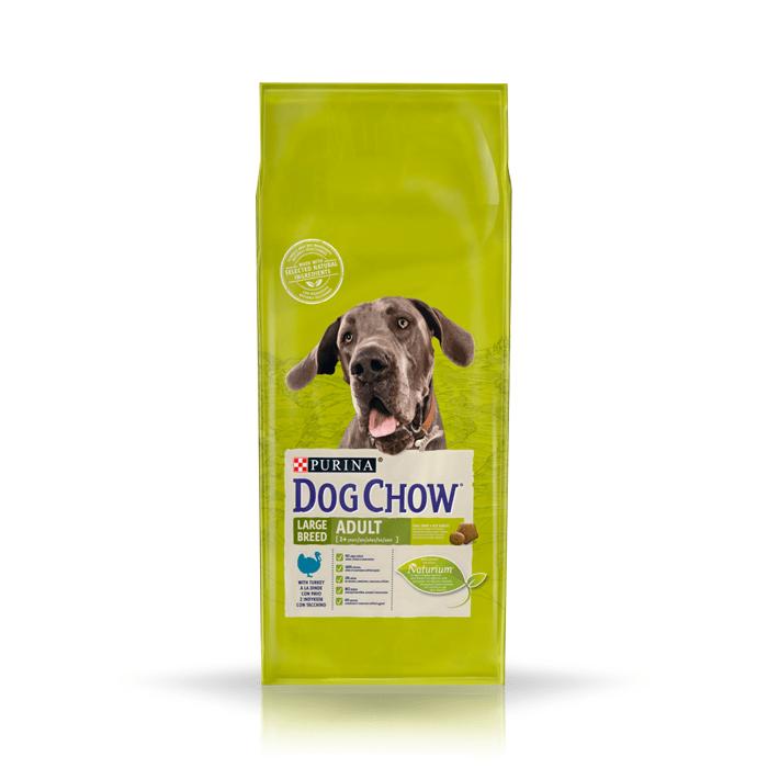 Karmy suche dla psa - Dog Chow Adult Large Breed Turkey