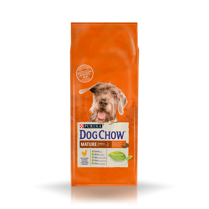 Karmy suche dla psa - Dog Chow Mature Adult Chicken