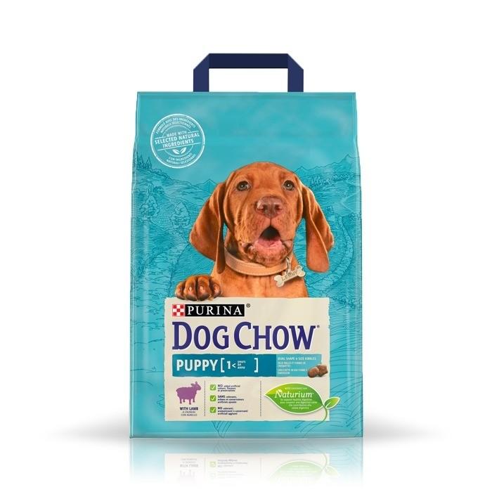 Karmy suche dla psa - Dog Chow Puppy Lamb