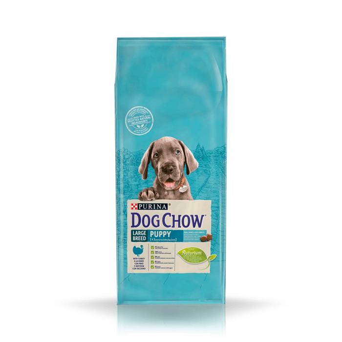 Karmy suche dla psa - Dog Chow Puppy Large Breed 14kg