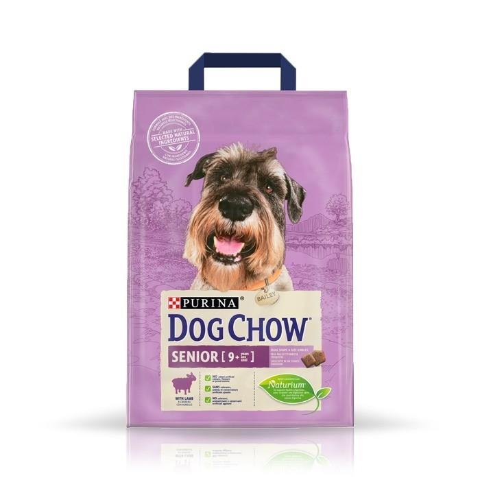 Karmy suche dla psa - Dog Chow Senior Lamb
