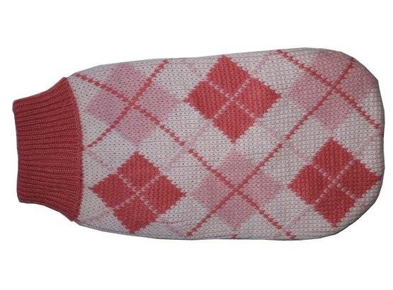 Ubranka dla psa - Doggy Fashion Golf różowy ze wzorem 25cm