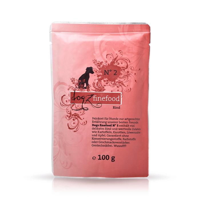Karmy mokre dla psa - Dogz Finefood saszetka 100g x 12