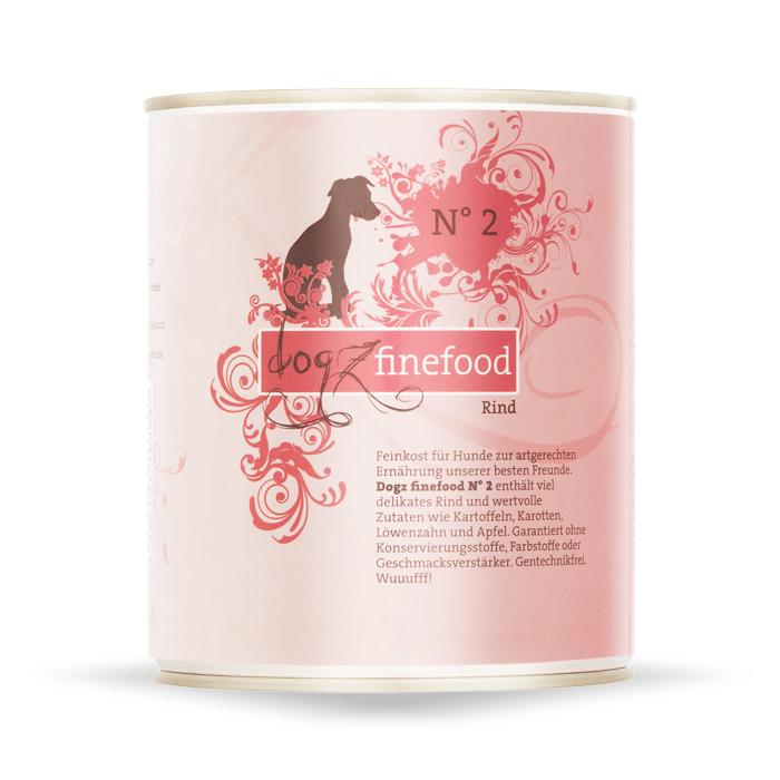 Karmy mokre dla psa - Dogz Finefood puszka 800g x 4
