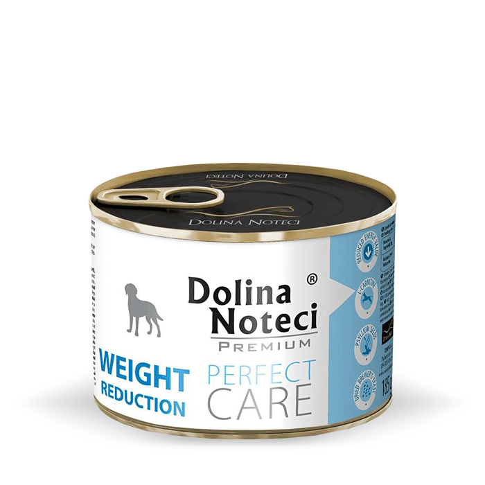 Karmy mokre dla psa - Dolina Noteci Premium Perfect Care Weight Reduction 185g
