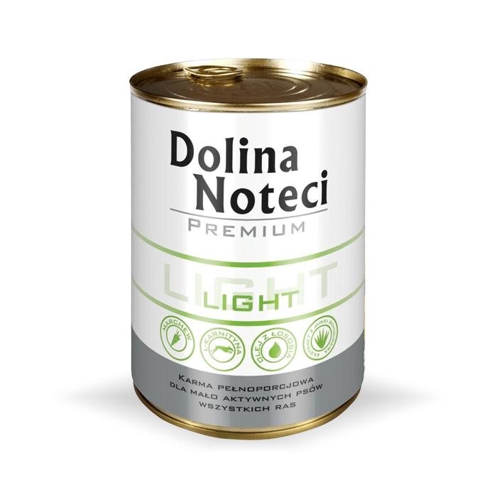 Karmy mokre dla psa - Dolina Noteci Premium Light 400g