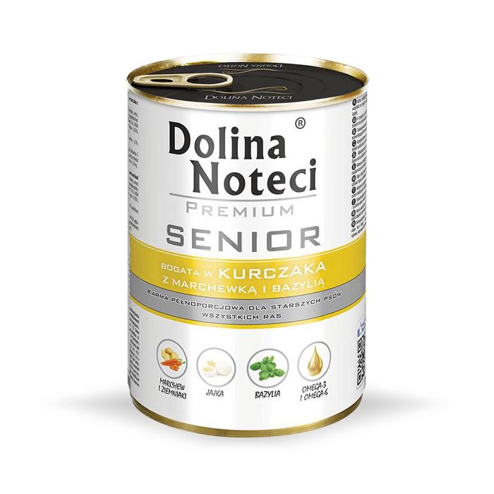 Karmy mokre dla psa - Dolina Noteci Premium Senior 400g x 12