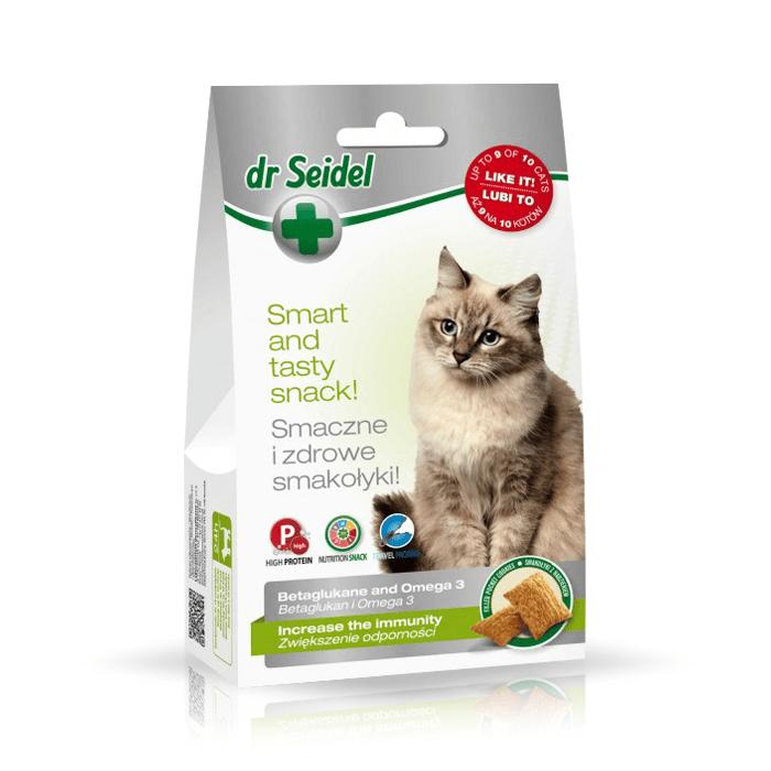 Przysmaki dla kota - Dr Seidel Smakołyki dla kotów na odporność 50g