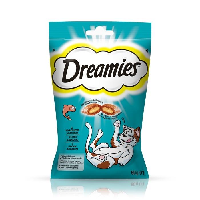 Przysmaki dla kota - Dreamies przysmak dla kota łosoś 60g