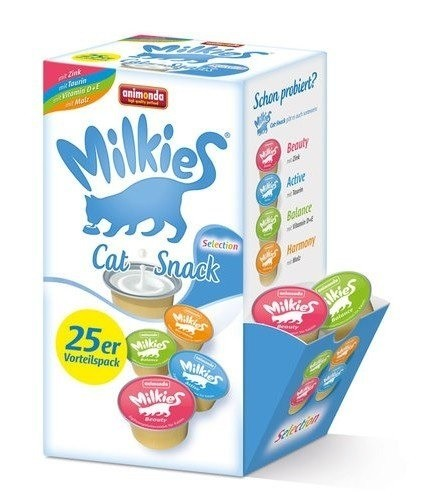 Przysmaki dla kota - Animonda Kot Milkies Selection Mix 20x15g