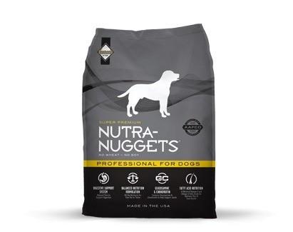 Karmy suche dla psa - Nutra Nuggets Adult Professional