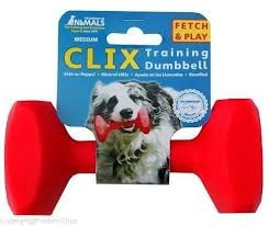 Zabawki - Clix Dumbbell Aport średni