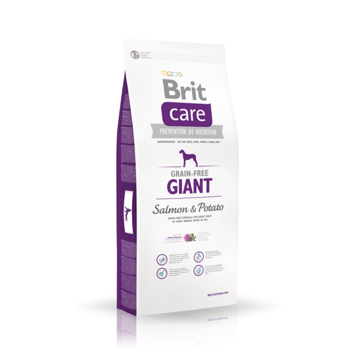 Karmy suche dla psa - Brit Care Grain-free Giant Salmon & Potato