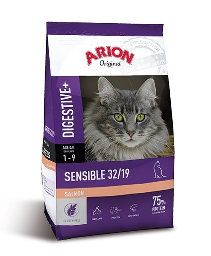 Karmy suche dla kota - Arion Original Cat Sensible Salmon