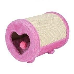 Drapaki, tunele dla kota - Trixie Drapak rolka 27x39cm różowy