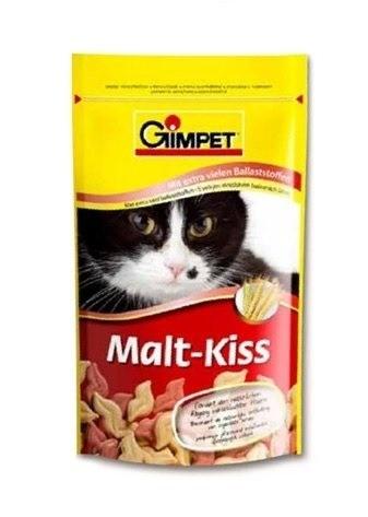 Przysmaki dla kota - Gimpet Malt Kiss pastylki odkłaczające dla kota 40g